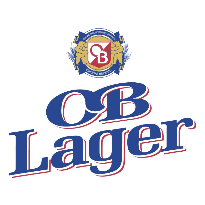 OB Lager vector logo