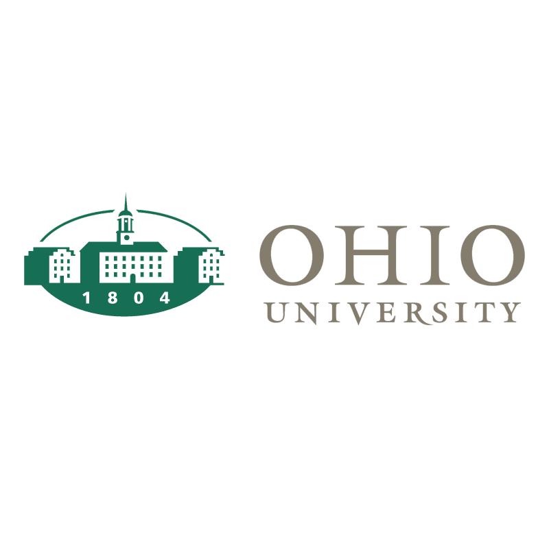 Ohio University vector