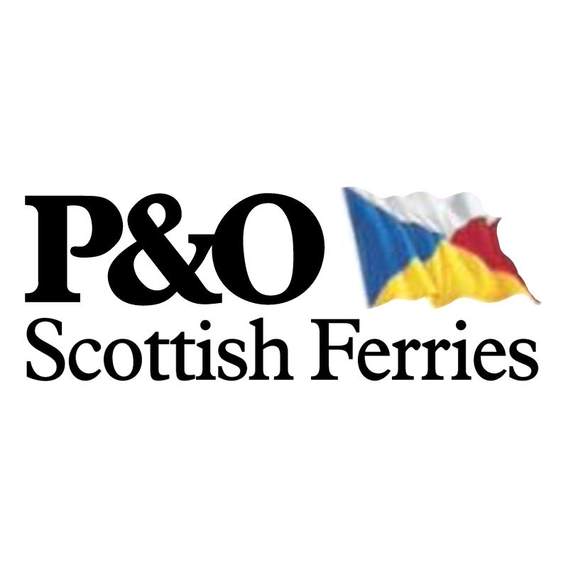 P&O Scottish Ferries vector