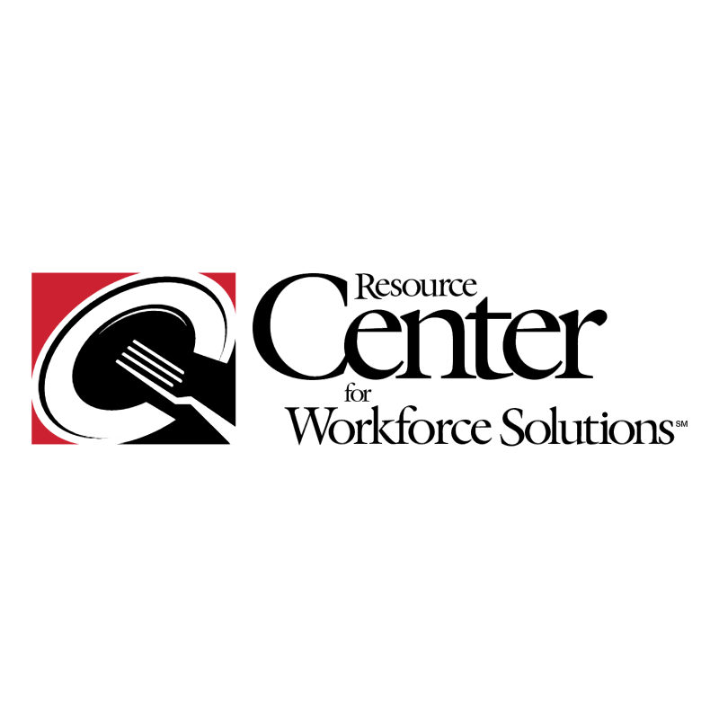 Resource Center for Workforce Solutions vector logo