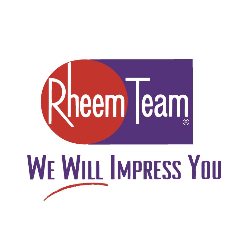 Rheem Team vector