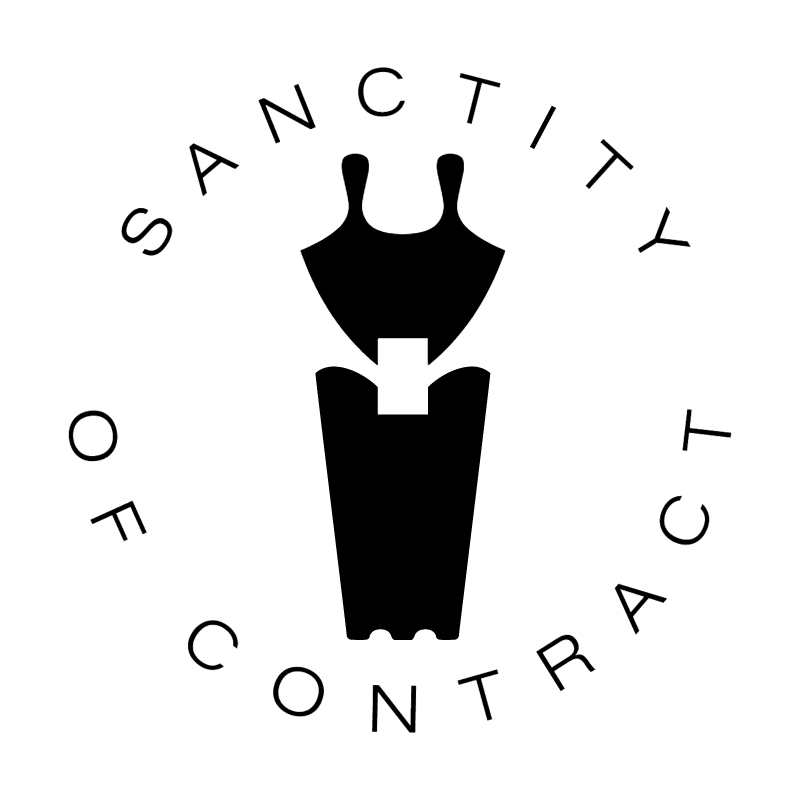 Sanctity Of Contract vector