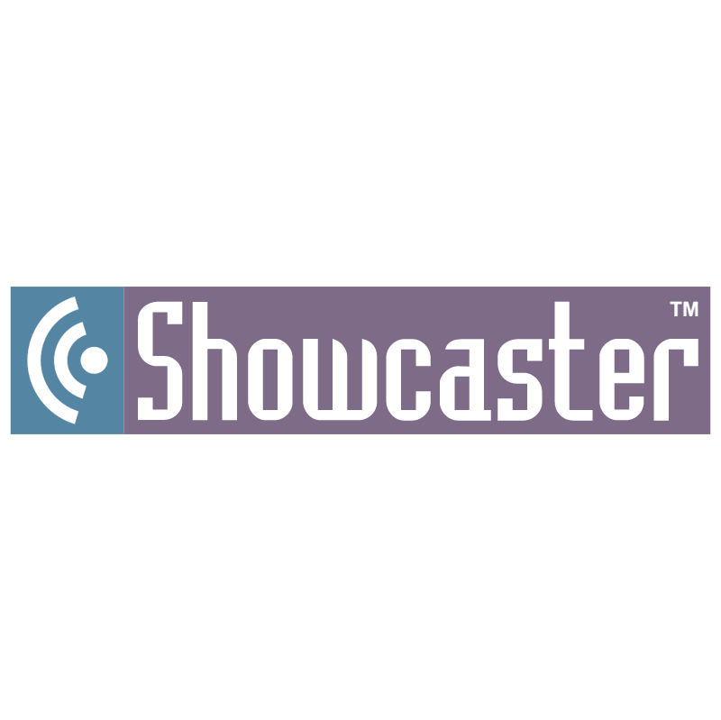 Showcaster vector