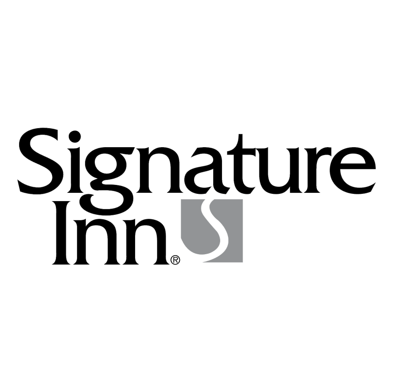 Signature Inn vector