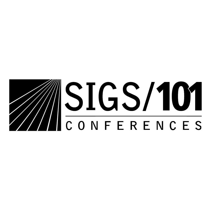 SIGS 101 Conferences vector