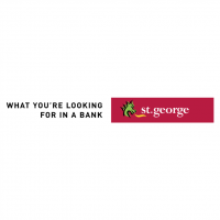 St George Bank vector