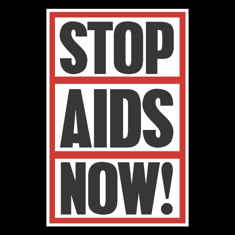Stop Aids Now vector