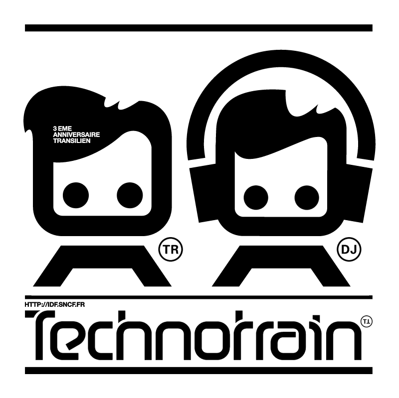 Technotrain vector