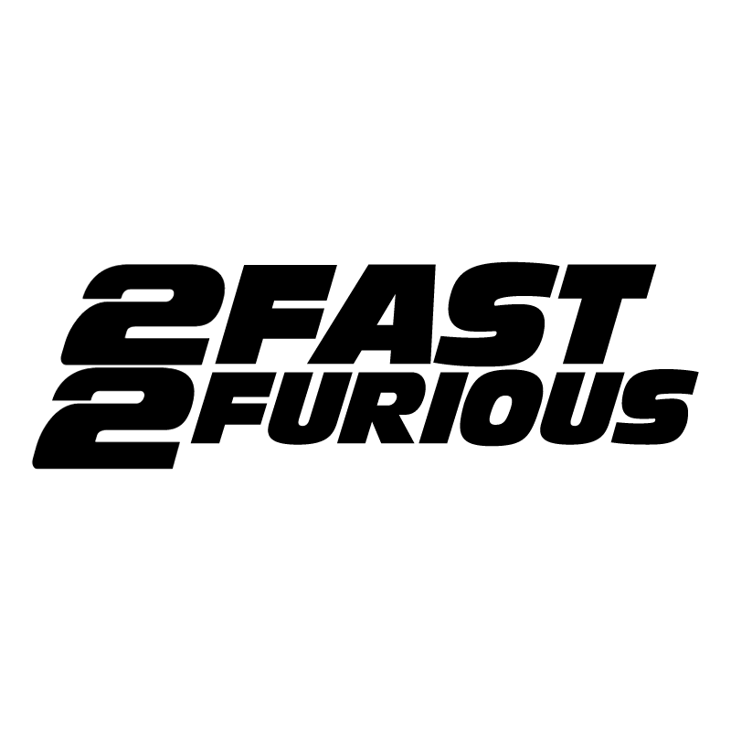 The Fast And The Furious 2 vector logo