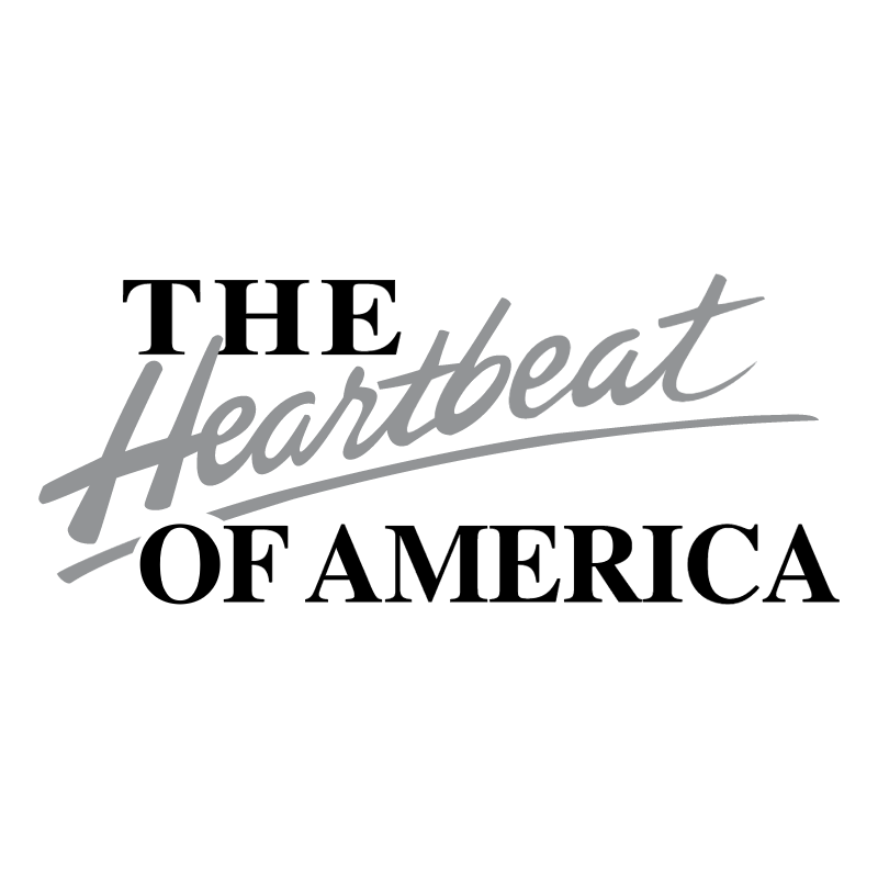 The Heartbeat of America vector