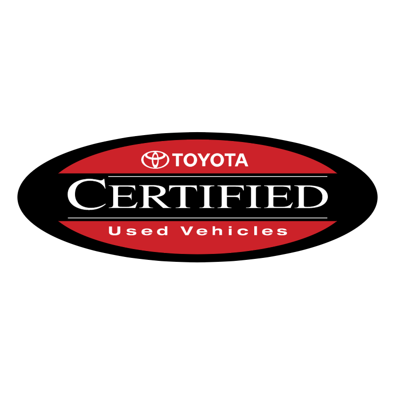 Toyota Certified Used Vehicles vector