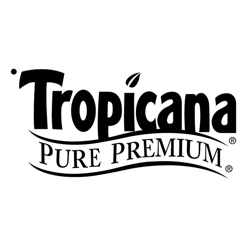 Tropicana Pure Premium vector