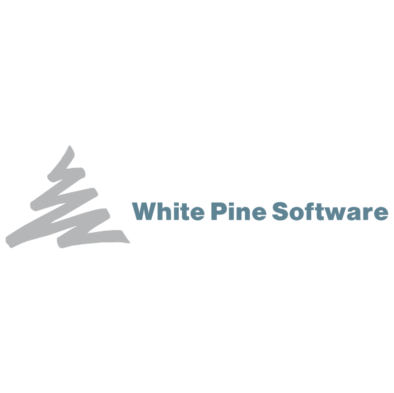 White Pine Software vector