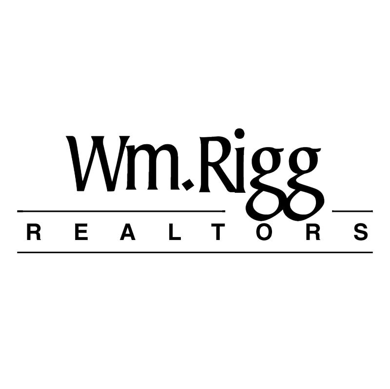 Wm Rigg Realtors vector logo
