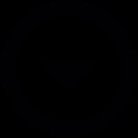 Badge down vector