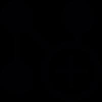 network Add Button vector