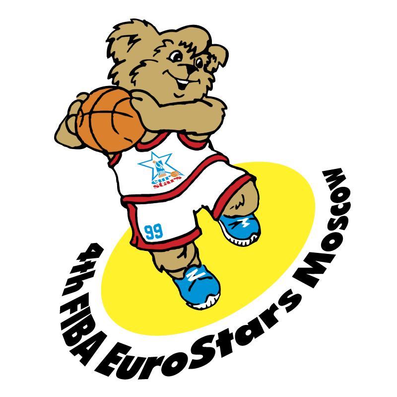4th FIBA Eurostars Moscow 1999 vector