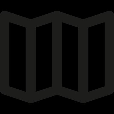 Map vector logo