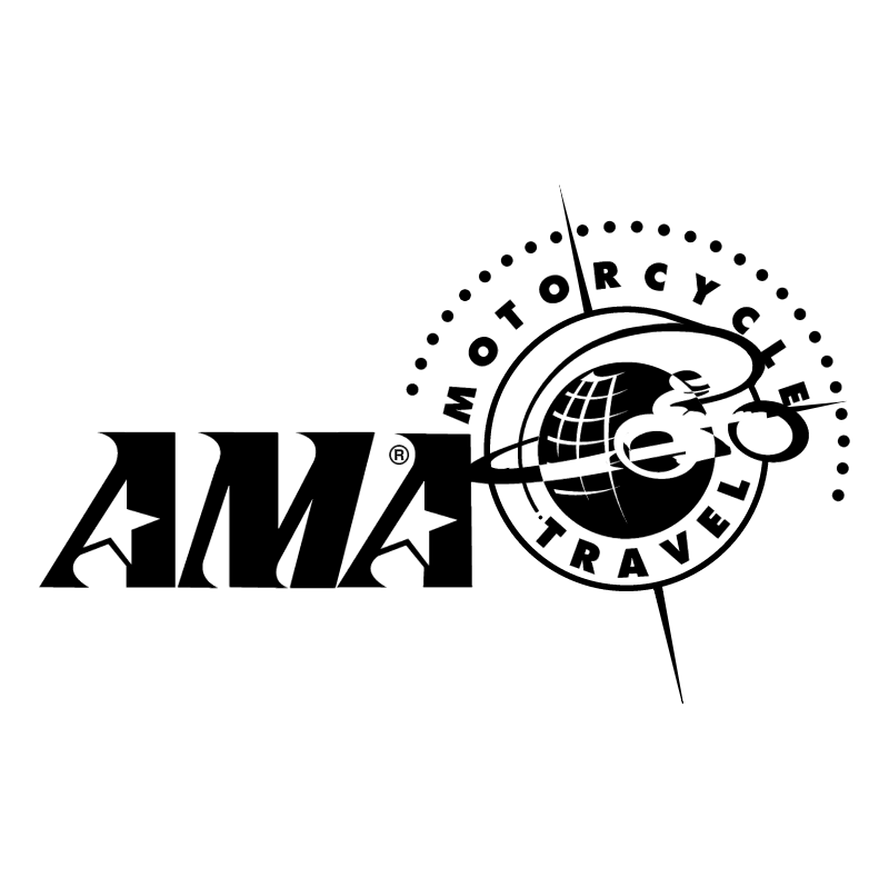AMA Motorcycle Travel vector