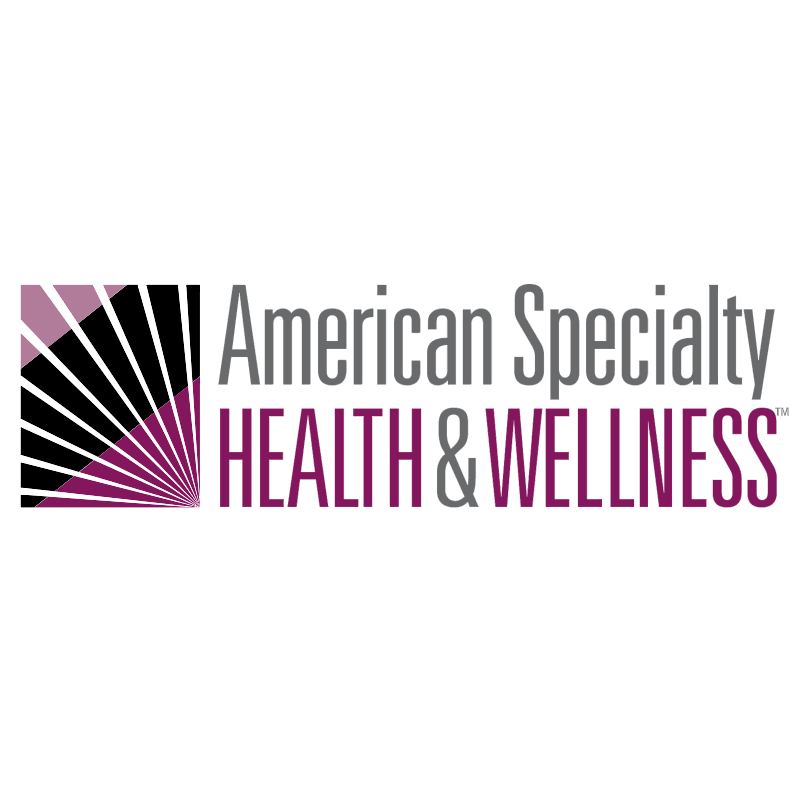 American Specialty Health&Wellness vector