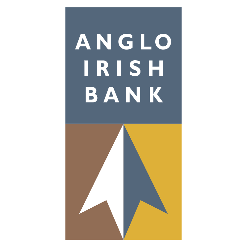 Anglo Irish Bank 26058 vector