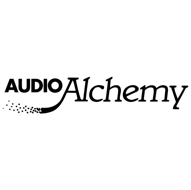 Audio Alchemy vector logo