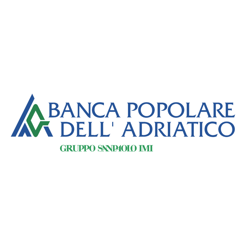 Banca Popolare dell' Adriatico Pesaro 75776 vector