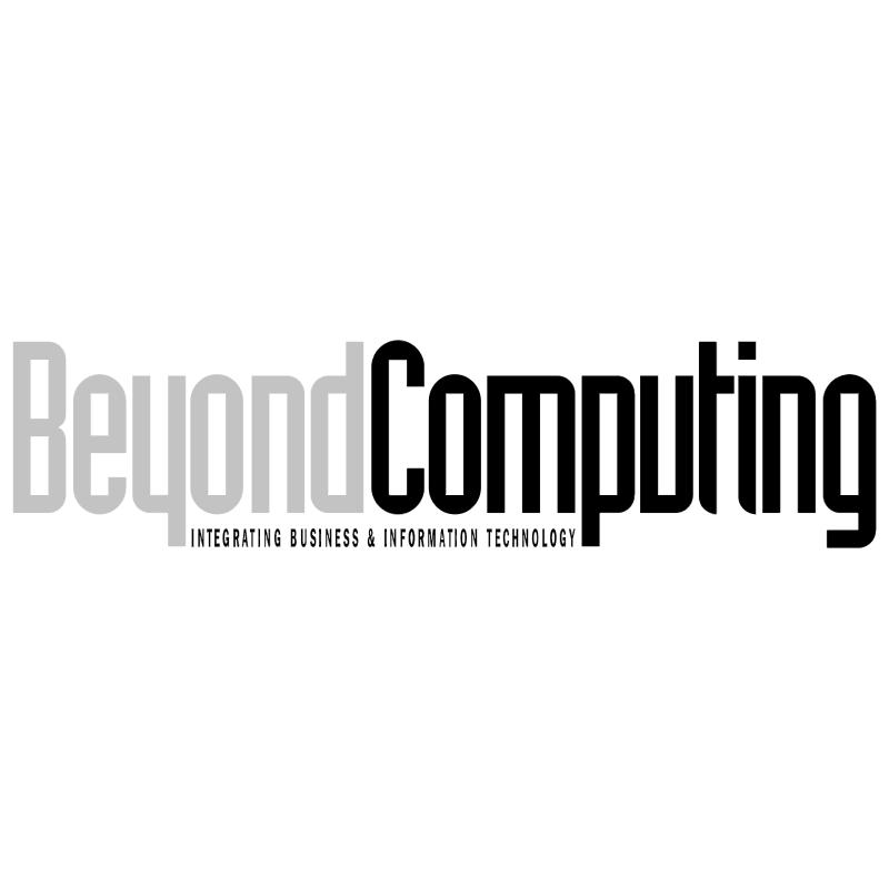 Beyond Computing vector logo
