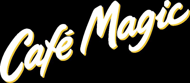 Cafe Magic logo vector