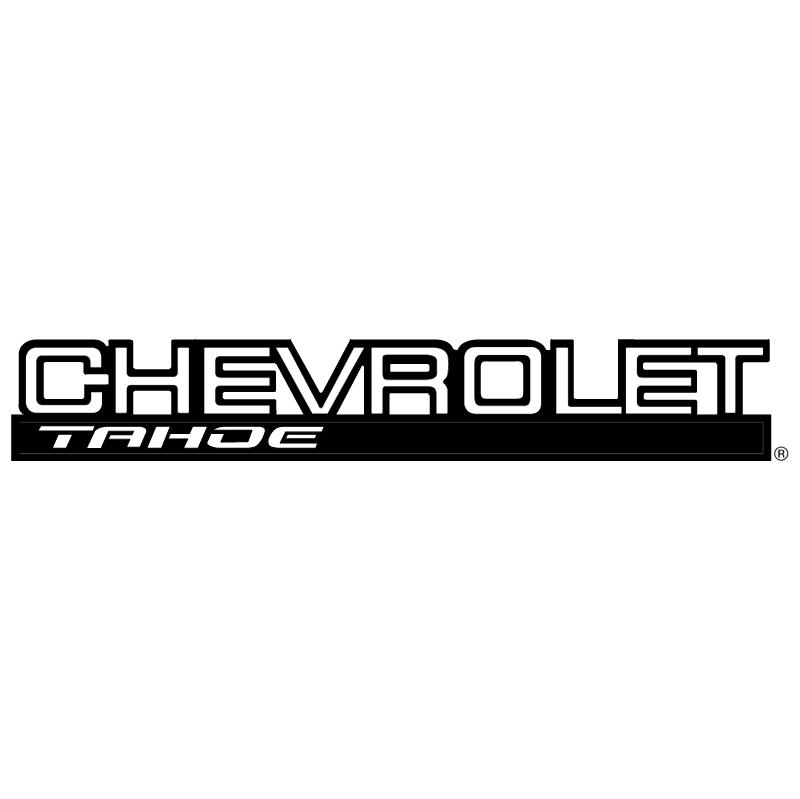 Chevrolet Tahoe vector logo