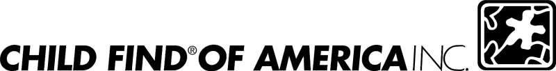 Child Find of America vector logo