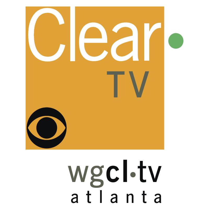 Clear TV vector