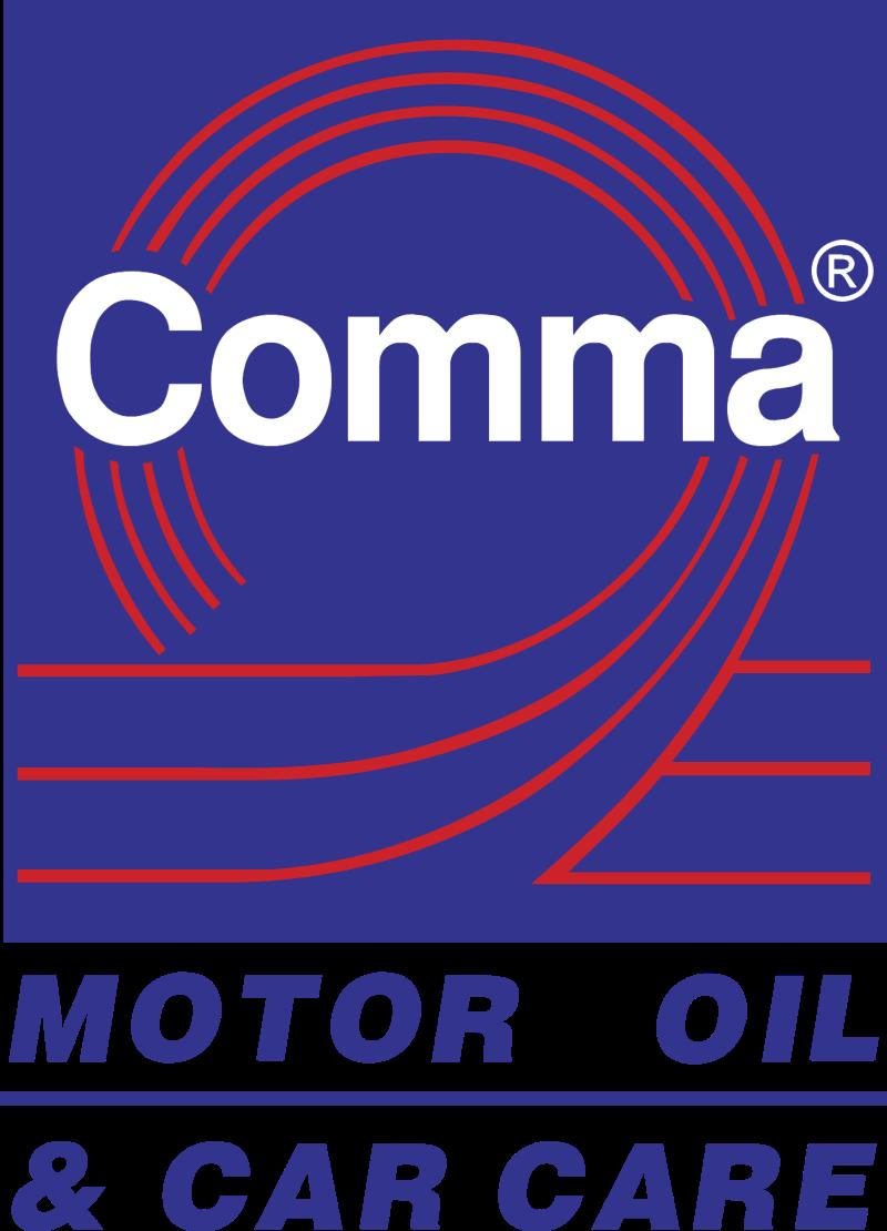 Comma logo vector