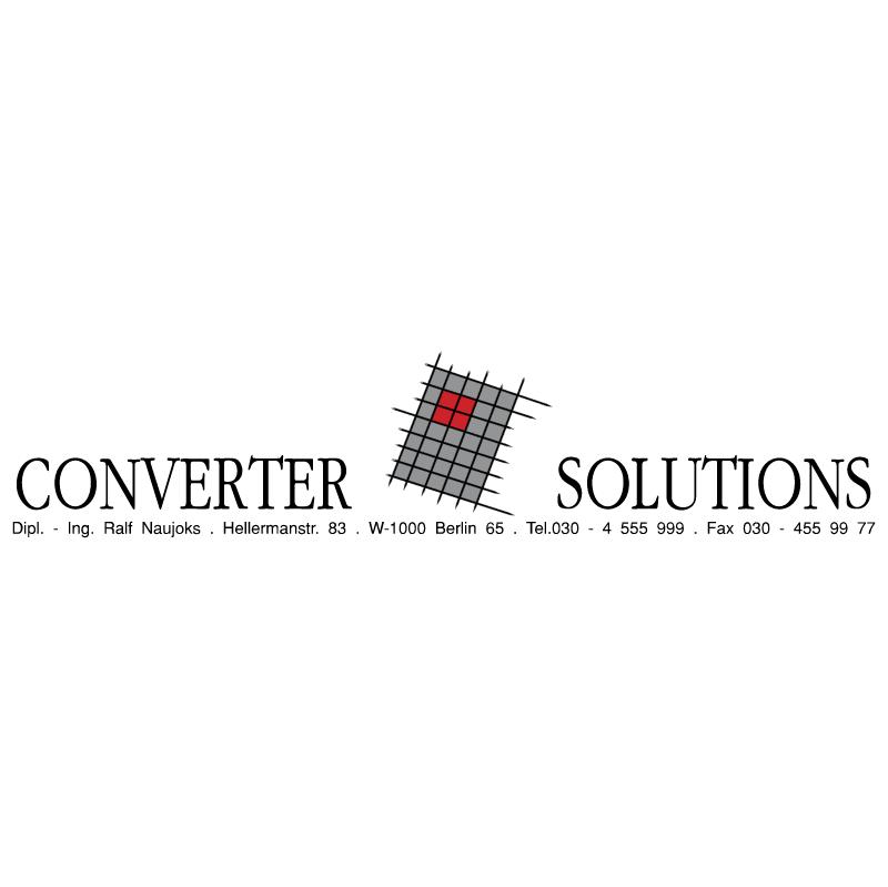 Converter Solutions vector