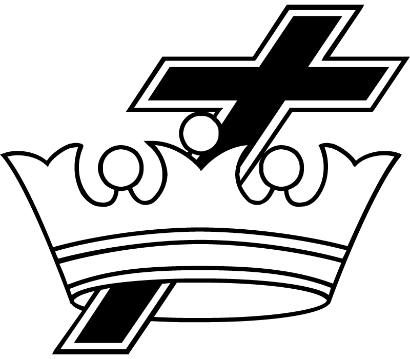 CROSS & CROWN vector