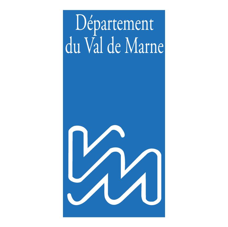 Departement du Val de Marne vector