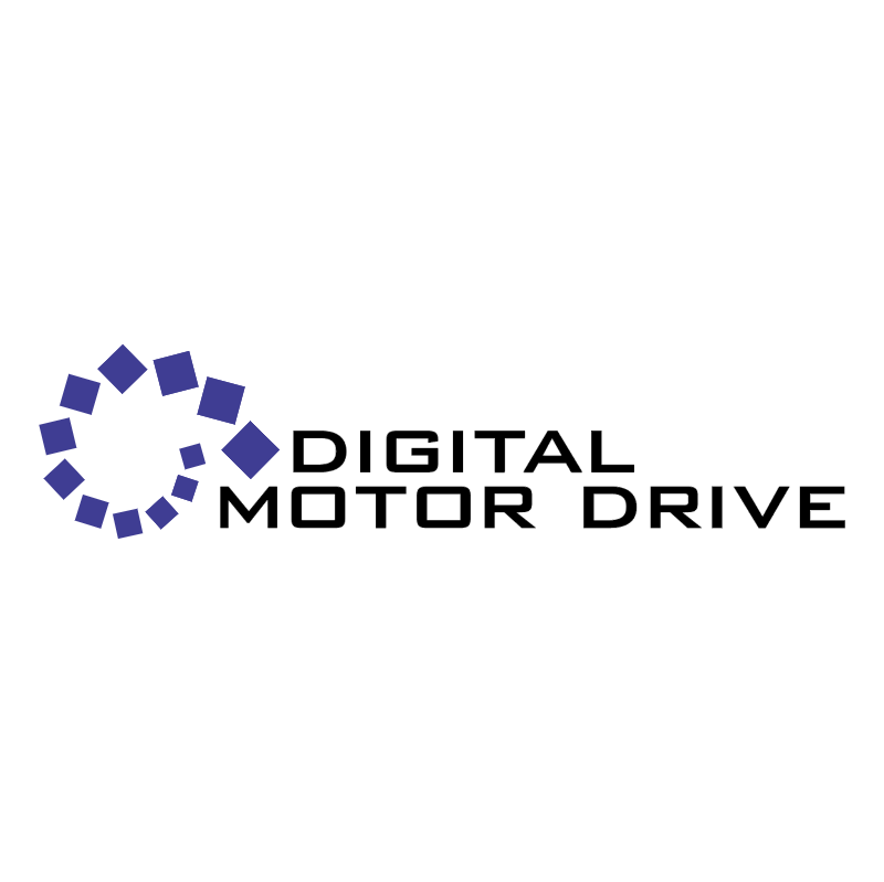 Digital Motor Drive vector logo