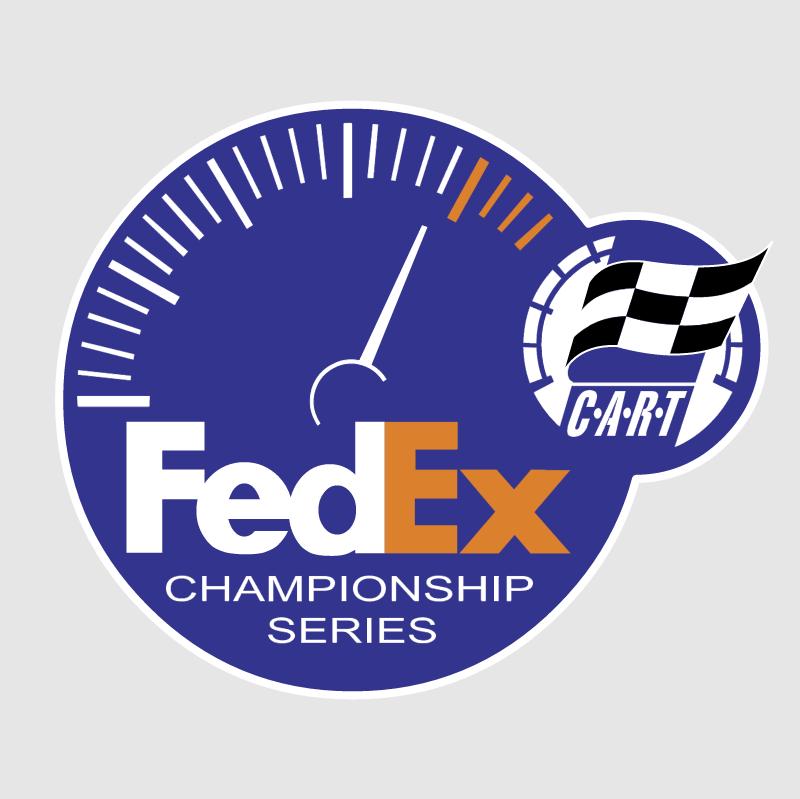 FedEx Sponsors of CART vector