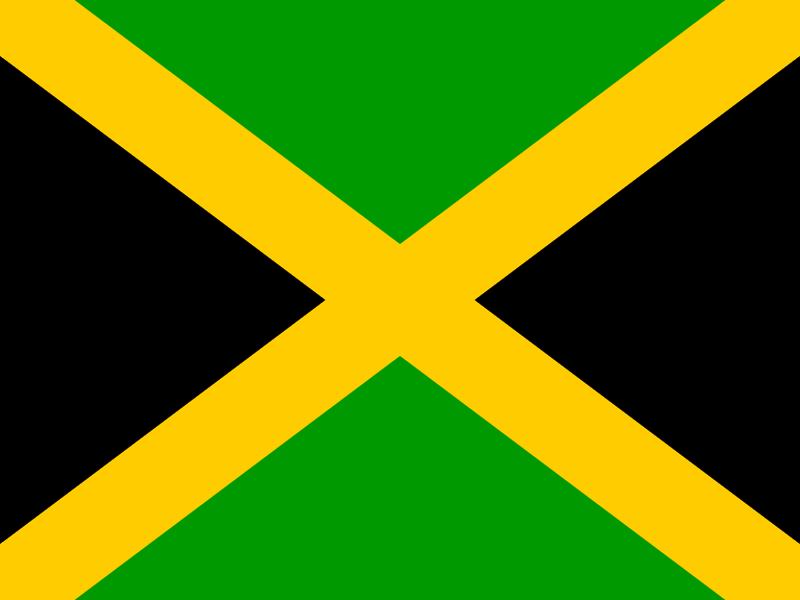 Flag of Jamaica vector logo