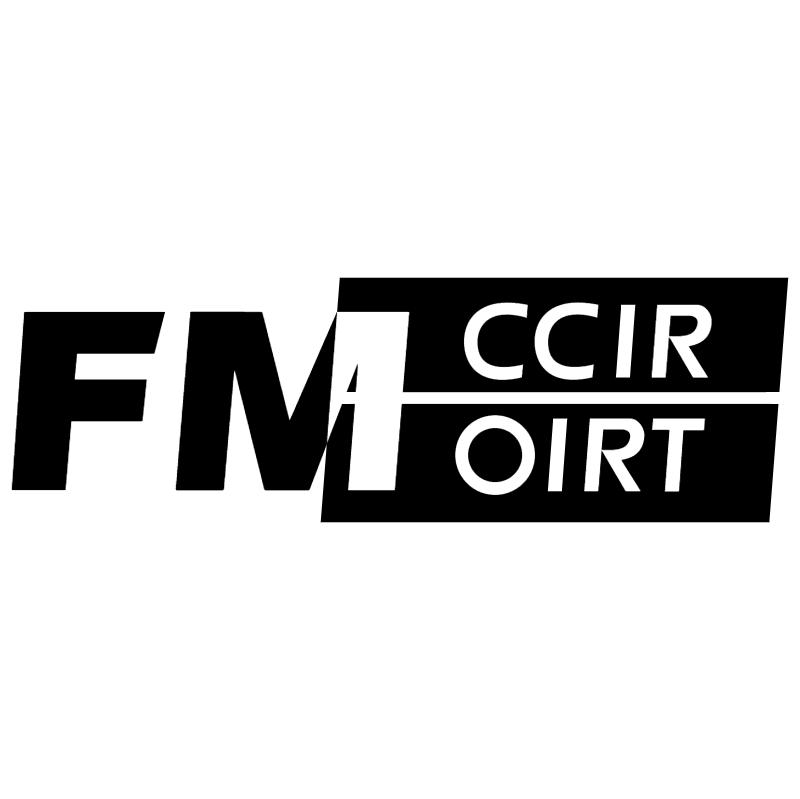 FM CCIR OIRT vector