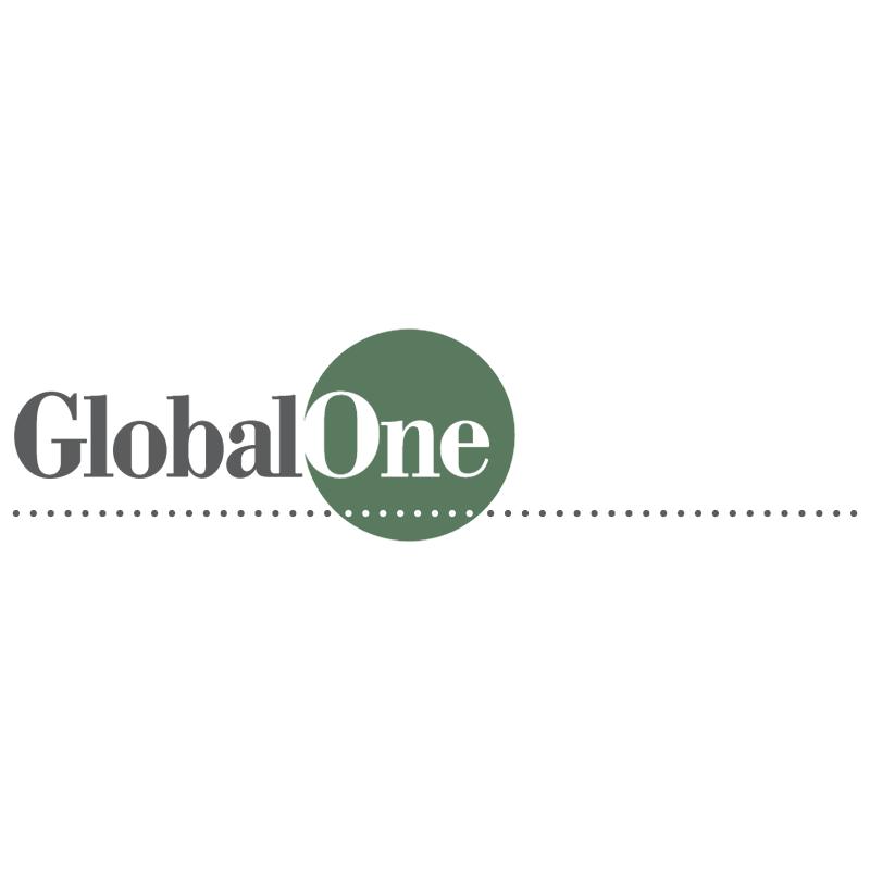 GlobalOne vector logo