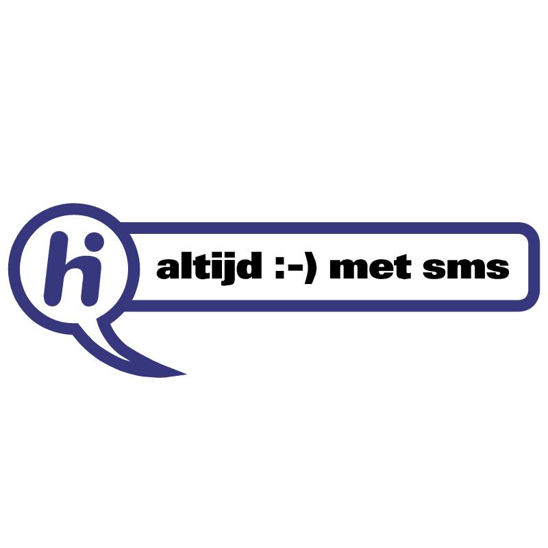 Hi vector logo