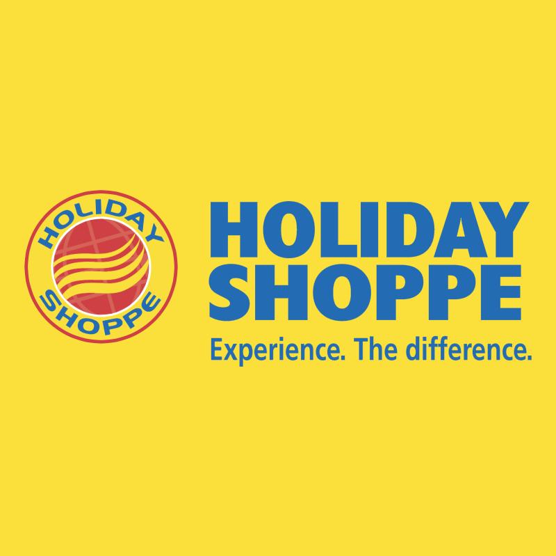 Holiday Shoppe vector logo