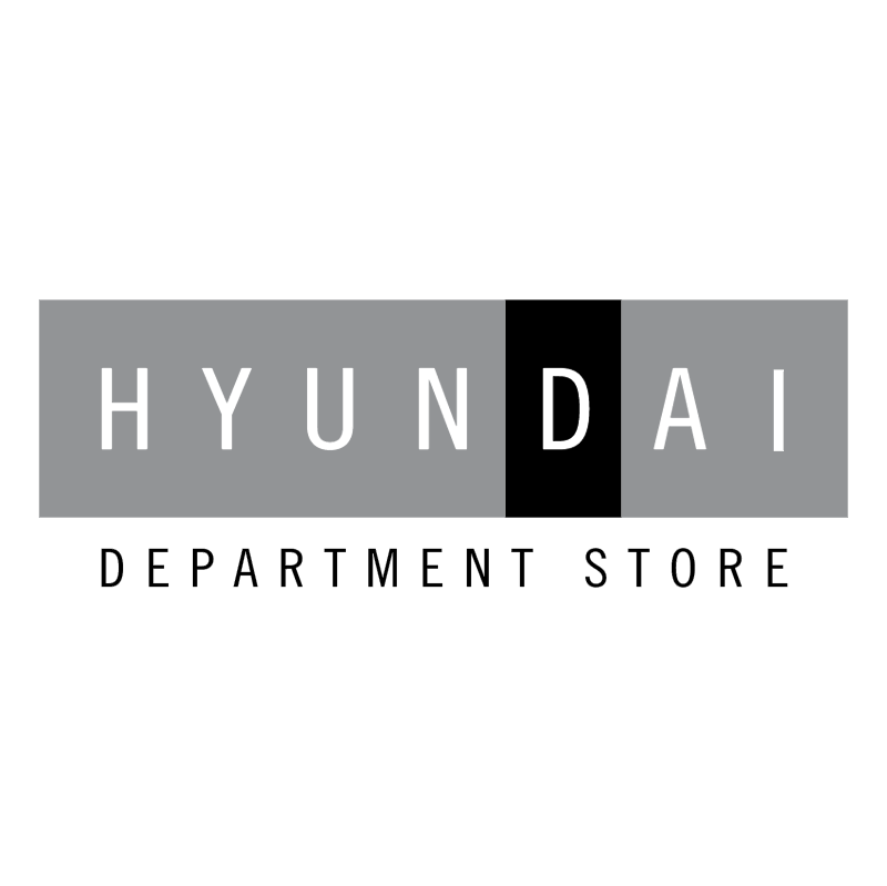 Hyundai Department Store vector