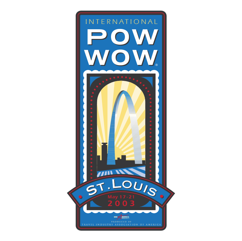 International Pow Wow St Louis vector