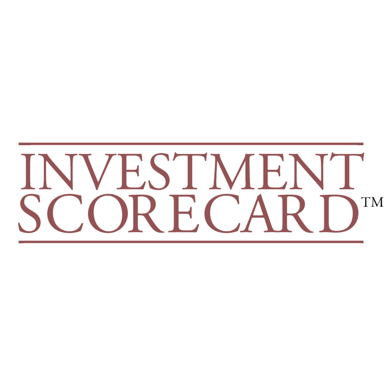 Investment Scorecard vector