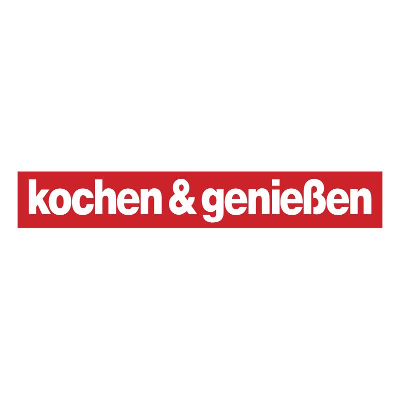 Kochen & Genieben vector