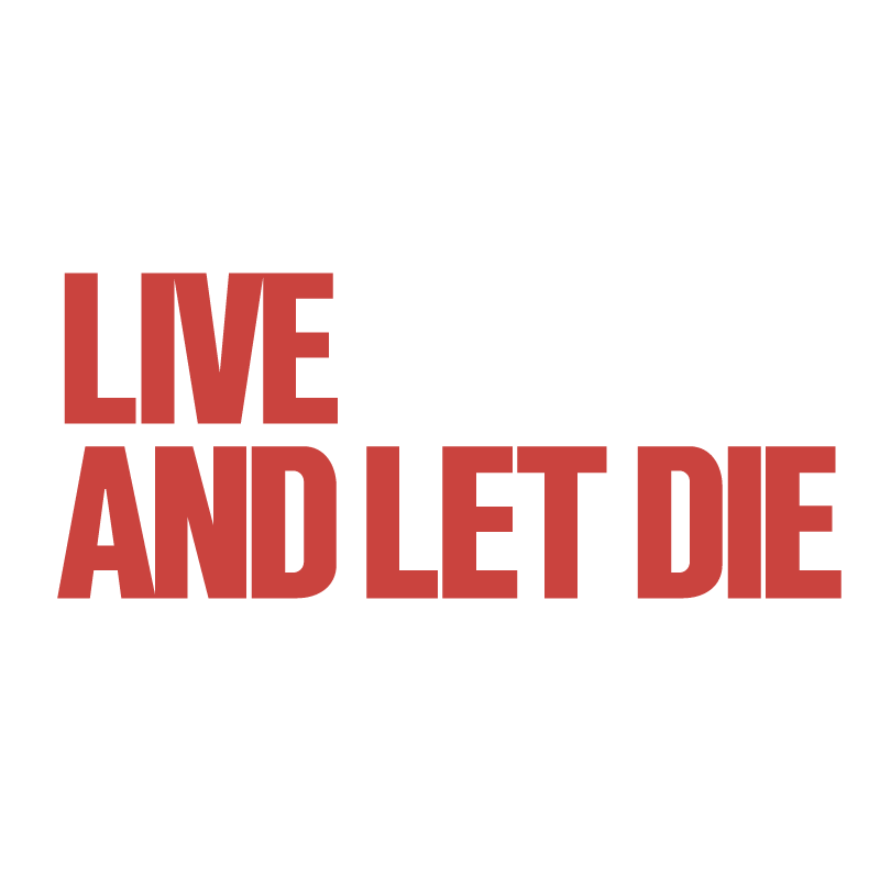 Live And Let Die vector logo