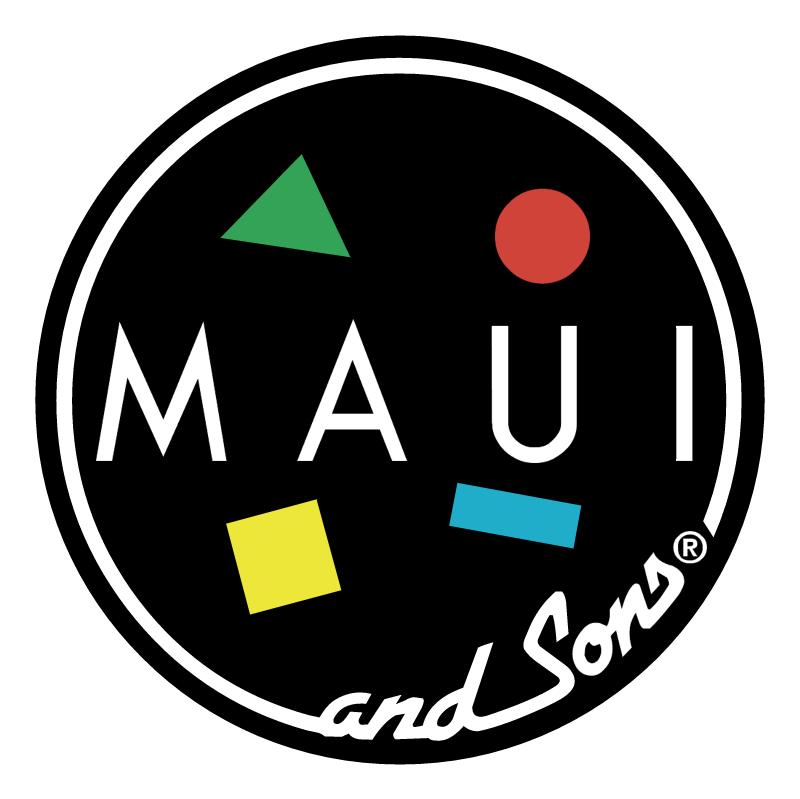 Maui & Sons vector