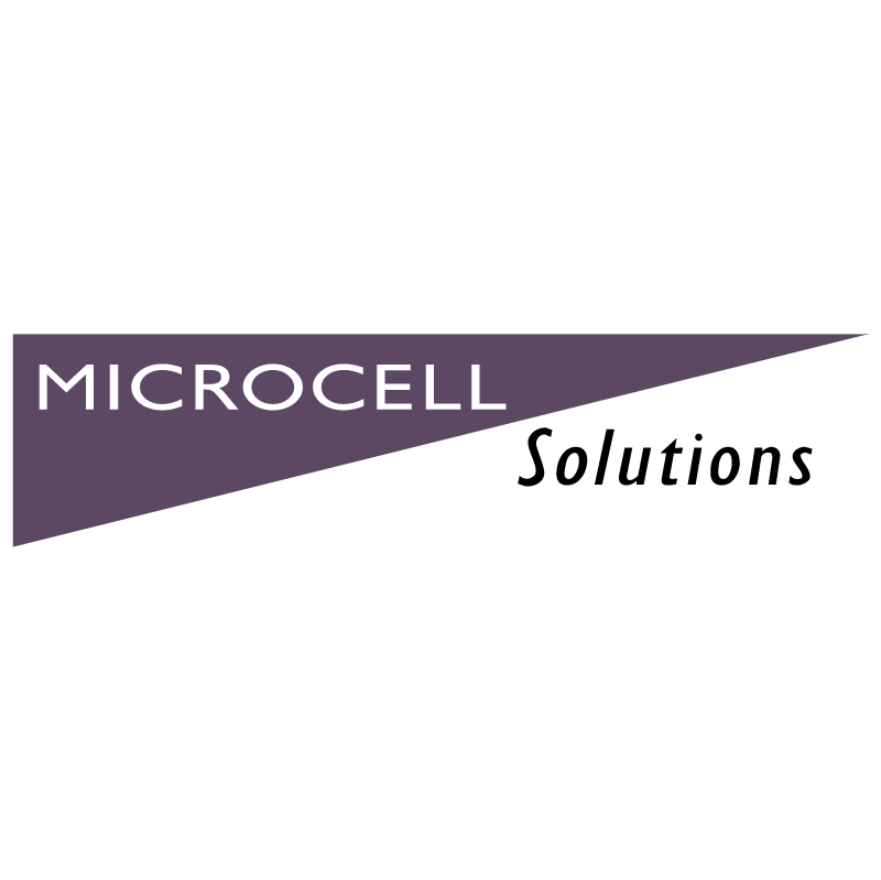 Microcell Solutions vector logo